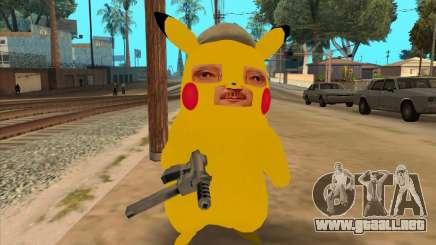 Michael Círculo en la forma de un Pikachu para GTA San Andreas