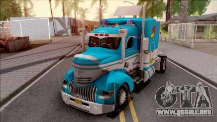 Chevrolet COE Blue para GTA San Andreas