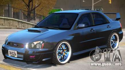 Subaru Impreza Improved para GTA 4