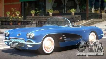 1960 Chevrolet Corvette C1 para GTA 4