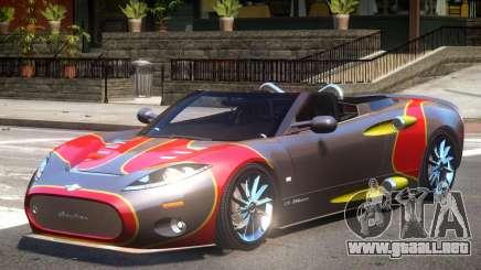 Spyker C8 V1.1 PJ2 para GTA 4
