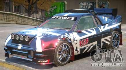 Ford RS200 Drift V1 PJ2 para GTA 4