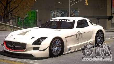 Mercedes Benz SLS GT3 V1 PJ2 para GTA 4