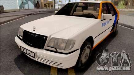 Mercedes-Benz S600L W140 Yandex Drive para GTA San Andreas