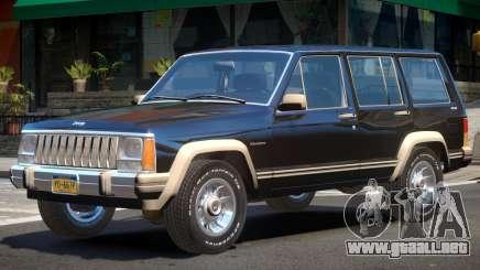 1984 Jeep Cherokee V1 para GTA 4