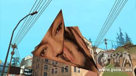 Felipe en la forma de una pirámide-origami para GTA San Andreas
