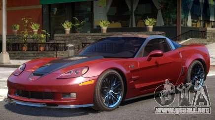 Chevrolet Corvette ZR1 V1.2 para GTA 4