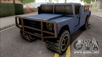New Patriot Blue para GTA San Andreas