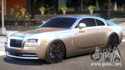 Rolls Royce Wraith Upd para GTA 4