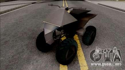 Tesla Cyberquad para GTA San Andreas