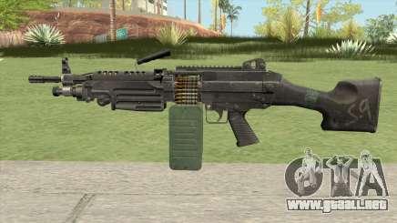 M249 SAW para GTA San Andreas
