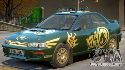 Subaru Impreza Rally Edition V1 PJ2 para GTA 4