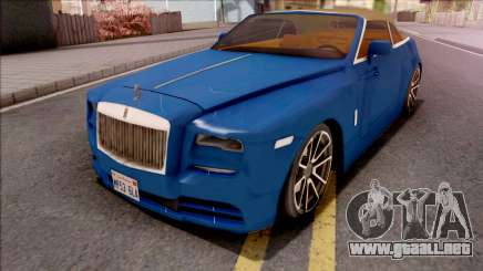 Rolls-Royce Dawn 2019 Low Poly para GTA San Andreas