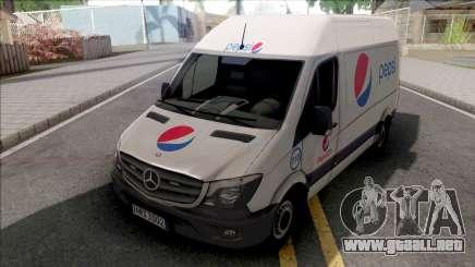 Mercedes-Benz Sprinter Van PepsiCO v2 para GTA San Andreas