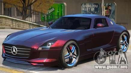 Mercedes SLS Custom para GTA 4