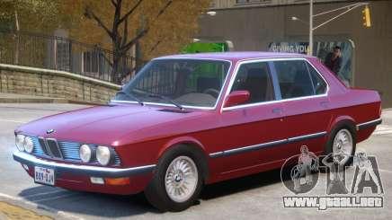 BMW 535 E28 V1.1 para GTA 4