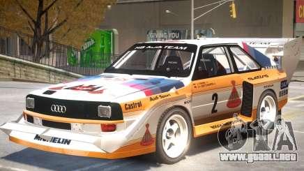 1982 Audi Quattro Sport para GTA 4