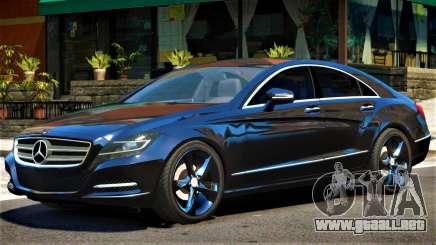Mercedes CLS 350 V1.2 para GTA 4