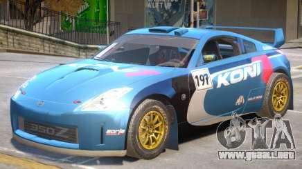 Nissan 350Z Drift V1 PJ7 para GTA 4