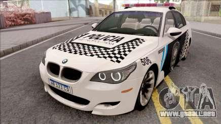 BMW M5 E60 Policia Metropolitana Argentina para GTA San Andreas