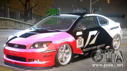Scion TC V1 PJ1 para GTA 4