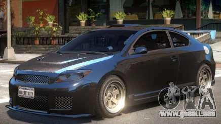 Toyota Scion Tuned para GTA 4