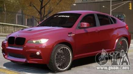 BMW X6 NR para GTA 4