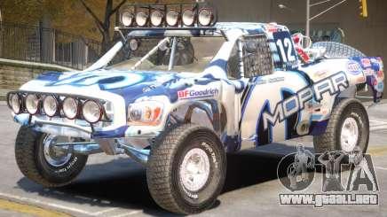 Dodge Ram Rally Edition PJ1 para GTA 4