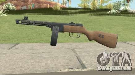 PPSH-41 (A.V.A) para GTA San Andreas