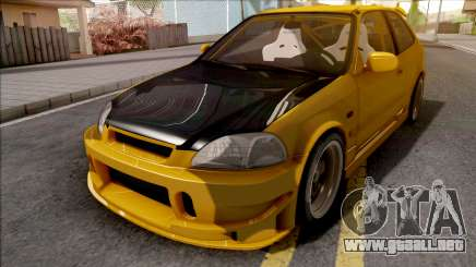 Honda Civic Hatchback Tuned para GTA San Andreas