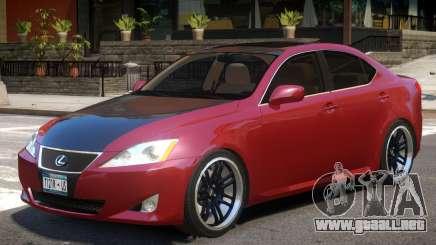 Lexus IS350 R1 para GTA 4