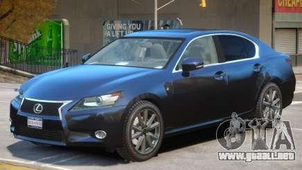 Lexus GS350 Upd para GTA 4