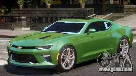 Chevrolet Camaro SS V2 para GTA 4
