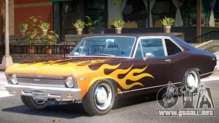 1969 Chevrolet Nova V1 PJ2 para GTA 4