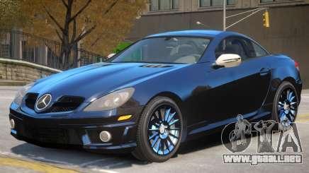 Mercedes Benz SLK 55 V1 para GTA 4