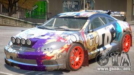 Mitsubishi Eclipse Rally PJ2 para GTA 4