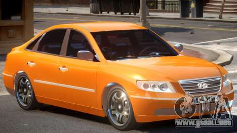 Hyundai Azera V1.0 para GTA 4
