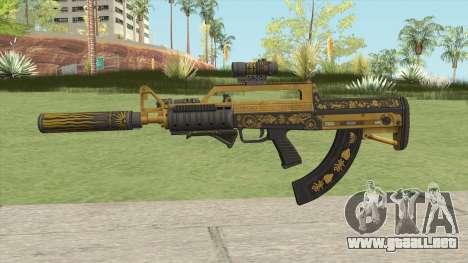 Bullpup Rifle (Complete Upgrade) Main Tint GTA V para GTA San Andreas