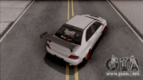 Mitsubishi Lancer Evolution IX Clinched para GTA San Andreas