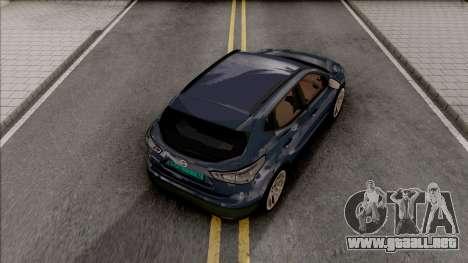 Nissan Qashqai IVF para GTA San Andreas