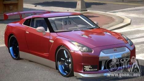 Nissan GT-R 35 V1.0 para GTA 4