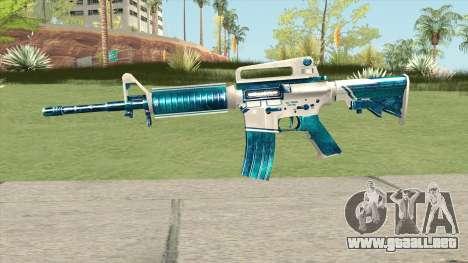 M4A1 (Winter Warrior) para GTA San Andreas
