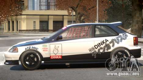 Dinka Blista Compact V1 PJ2 para GTA 4