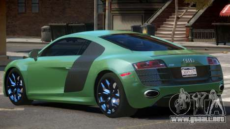 Audi R8 V10 V1.1 para GTA 4