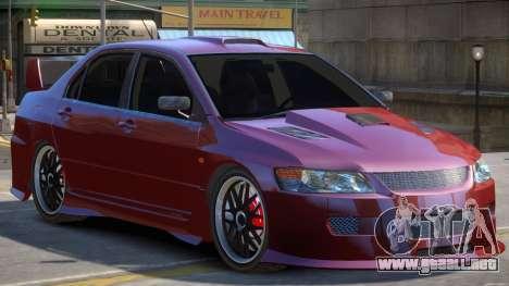 Lancer Evolution 8 V1 para GTA 4