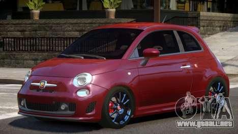 Fiat 500 V1.0 para GTA 4