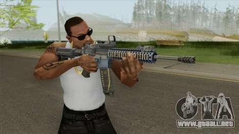 M4A1 (Sudden Attack 2) para GTA San Andreas