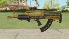Bullpup Rifle (Three Upgrade V2) Main Tint GTA V para GTA San Andreas