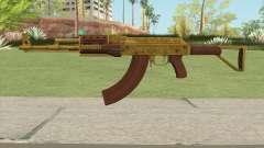 Assault Rifle GTA V Flashlight (Extended Clip) para GTA San Andreas