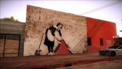 Graffiti por Banksy